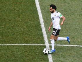 محمد صلاح يعادل  رقم عبد الرحمن فوزي بتسجيله هدفين بكأس العالم