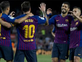 برشلونة يتقدم بهدف فى الشوط الأول على حساب ايندهوفن