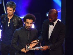 محمد صلاح يحصد جائزة بوشكاش لأفضل هدف فى 2018