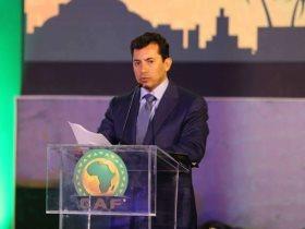 أشرف صبحى وزير الشباب والرياضة أرشيفية