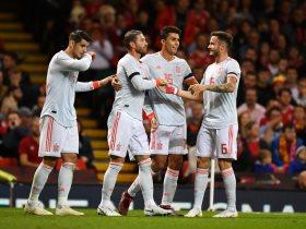 التشكيلة الرسمية لمواجهة اسبانيا وانجلترا بدورى الأمم الأوروبية