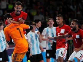 مباراة منتخب الشباب لكرة الصالات و الأرجنتين