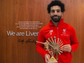 محمد صلاح يتوج بجائزة أفضل لاعب فى إفريقيا من BBC للعام الثانى على التوالى