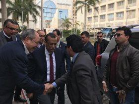 وزير الرياضة يزور بورسعيد