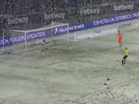 تساقط الثلوج فى الدورى الألمانى