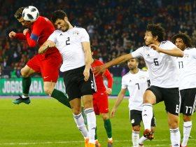 رونالدو فى ودية البرتغال