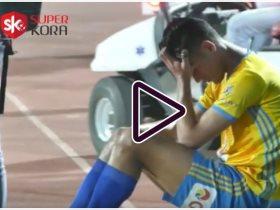 دموع لاعبى الإسماعيلى بعد هزيمة بيراميدز