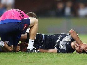 إصابة لاعب
