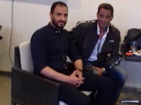 هاني رمزي خلال حديثه مع حسام علي