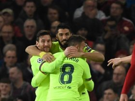 برشلونة ضد مانشستر يونايتد حديث صحف انجلترا