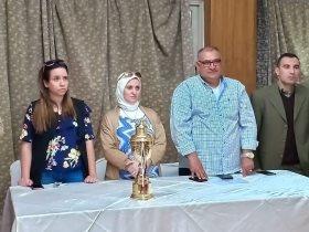 مجلس إدارة النادى مع أسامة يوسف رئيس قطاع الناشئين