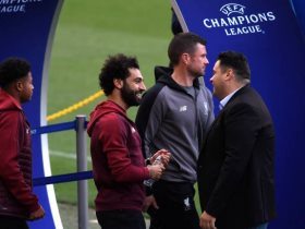 محمد صلاح فى ملعب برشلونة