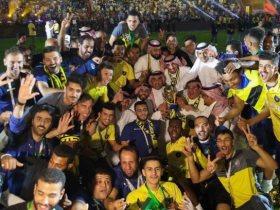 فرحة لاعبي التعاون السعودي