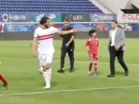 محمود علاء لاعب الزمالك