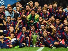 برشلونة بطل أوروبا 2015