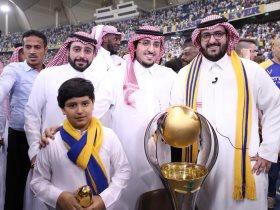 رئيس نادى النصر سعود ال سويلم