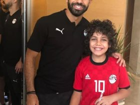 محمد صلاح مع ابن فكرى صالح