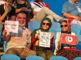 جماهير مصر ترحيب بتونس