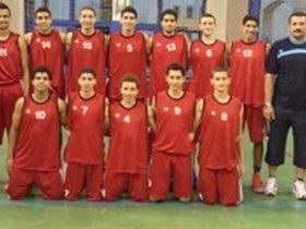 منتخب ناشئين السلة تحت 16 سنة