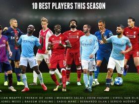 أفضل 10 لاعبين