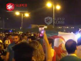 جماهير الجزائر تشعل الشوارع