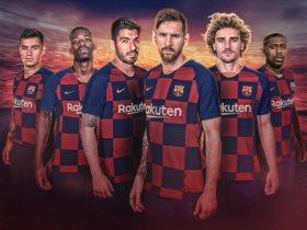 خط هجوم برشلونة