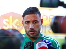 يوسف بلايلي لاعب وسط الترجي التونسي