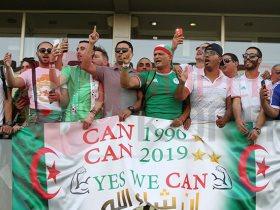 لافتة جمهور الجزائر