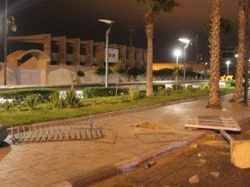 تخريب شوارع الجزائر