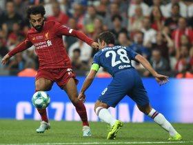 محمد صلاح فى المباراة
