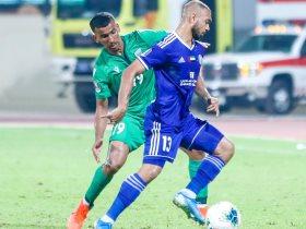 لاعب النصر الإماراتى مهند خميس