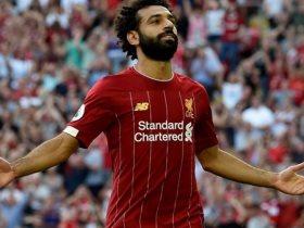 احماء لاعبو ليفربول على ترانيم الأنفيلد الشهيرة