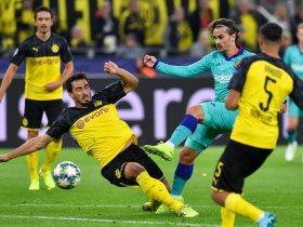 دورتموند ضد برشلونة