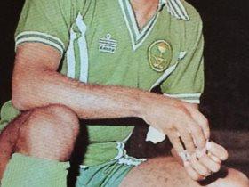 صالح خليفه صاحب أول أهداف منتخب السعودية فى شباك سنغافورة في 1981