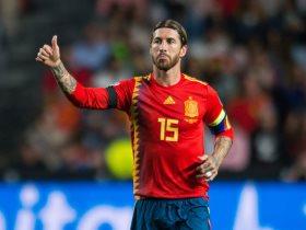 10 أرقام مثيرة للنجم سيرجيو راموس تكتمل فى مباراة النرويج ضد إسبانيا