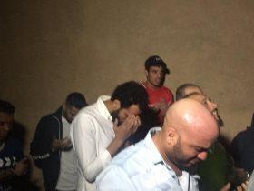 مشاهد من تشيع جثمان اللاعب علاء على