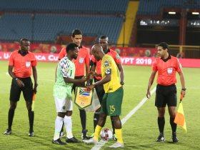 جنوب افريقيا ضد نيجيريا