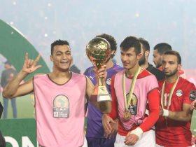 مصطفى محمد هداف المنتخب الأولمبي