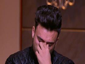 صلاح محسن يبكي لوفاة والده: وحشني وكان نفسي يشوفني بطل