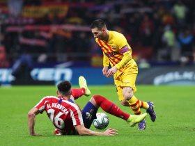 اتلتيكو مدريد ضد برشلونة