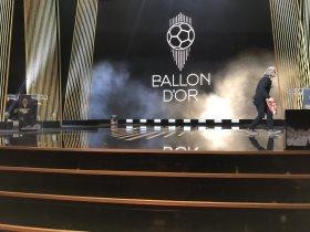 مسرح حفل جوائز الكرة الذهبية