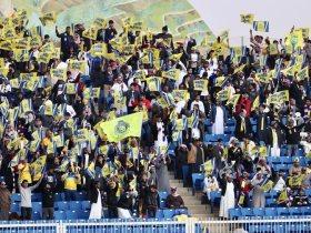 جماهير النصر السعودي تساند العالمي فى موقعة ضمك بكأس خادم الحرمين