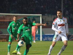 مولودية الجزائر ضد الرجاء المغربي.. أصحاب الأرض يتقدم بهدف في الشوط الأول