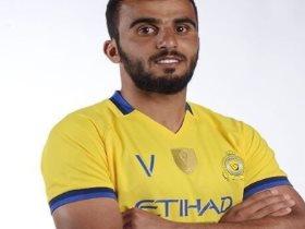 حمد المنصور لاعب فريق النصر السعودي