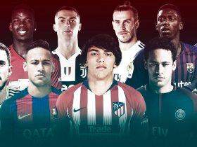 10 لاعبين أكثر من 100 مليون يورو