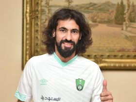 حسين عبد الغني قائد الأهلي السعودي