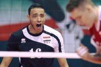 محمد محسن لاعب الكرة الطائرة بالزمالك