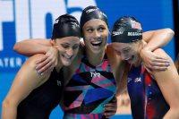 منتخب سيدات أمريكا للسباحة