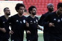 تدريبات منتخب مصر فى روسيا