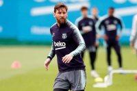 تدريبات برشلونة استعدادًا لقمة أتليتكو مدريد